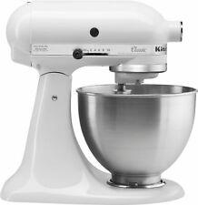 KitchenAid - ClassicSeries 4.5 Quart Tilt-Head Stand Mixer - White