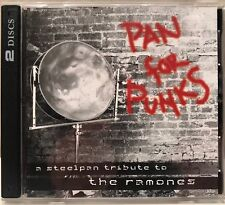 Pan For Punks A Steelpan Tribute to the Ramones 2 CD set