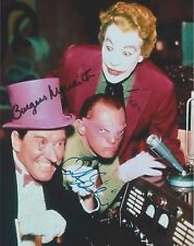 Batman (1967) Burgess Meredeth Frank Gorshin Cesar Romero ALL (3) SIGNED RP 8x10