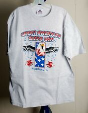 GREAT AMERICAN BIKER JAM ROCKFORD, IL ROCK RIVER HARLEY OWNERS T-SHIRT MENS XL