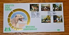 January 1991 First Day Cover Crufts Dog Show Official Cover