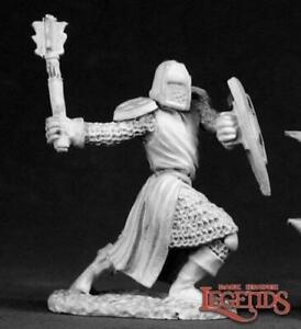 Reaper Miniatures 02330: Templar Knight - Dark Heaven Legends Metal Mini