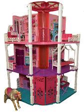 New ListingMattel 3 Story Barbie Dream House Used