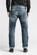 Cotton Big & Tall Loose Stonewashed Jeans for Men