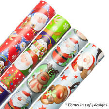 Cute Christmas Gift Wrapping Paper (10 Metres ) SINGLE ROLL