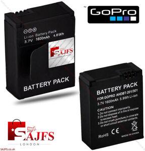 GENUINE Battery GoPro HD Hero 3 1600mAh AHDBT-201 AHDBT-301 AHDBT-302 GOPRO3