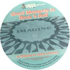 Great Moments in Rock 'n Roll, A Tribute to John Lennon; 33 RPM Cardboard Record
