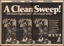 M*A*S*H*__Original 1980 Trade Print AD / TV industry promo / poster__MASH advert