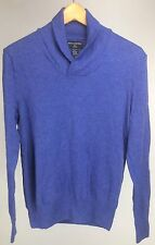 Banana Republic Azure Blue Merino Wool Sweater Light Weight Womens Sz Small