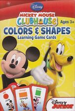 NEW Disney Mickey Learning Game Flash Cards ~ Colors & Shapes