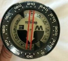 Vintage Compass Underwater Oceanic Scuba Diving Under Water With Boot 1970s