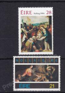 IRELAND MNH STAMP SET 1986 CHRISTMAS SG 654-656