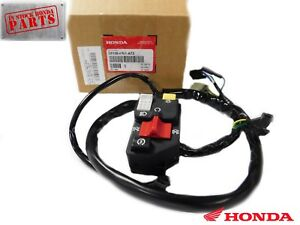 GENUINE HONDA SWITCH ASSEMBLY LIGHTING & ENGINE START TRX400 EX TRX400X OEM