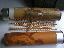 DALLAS TV SOUTHFORK 80 AUTHENTIC BARBED WIRE 24 K GOLD PLATE J.R EWING BOBBY