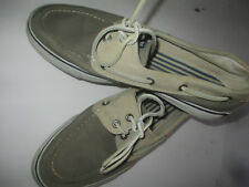 Sperry Top-Sider 2 tone canvas deck boat shoes mens sz 10.5 M REDUCED!!