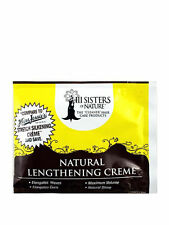 New III Sisters of Nature Natural Lengthening Creme Elongates Waves Curls 2oz