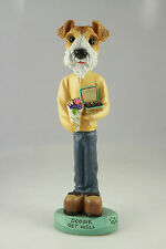 Get Well Fox Terrier Wire Hr Interchangable Body See Breed & Bodies @ Ebay Store
