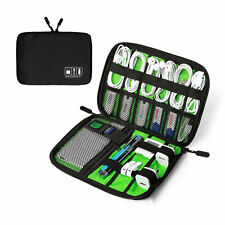 Portable Electronic Accessories Cable USB Drive Organizer Bag Travel