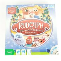Rudolph The Red-Nosed Reindeer DVD Board Game Screenlife  2010 New Sealed
