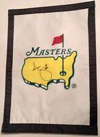 Adam Scott signed Masters flag augusta national golf 2020 masters pga psa dna