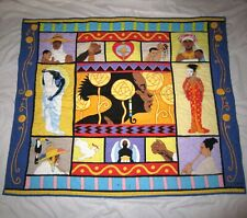 Thomas Blackshear Ebony Visions The Threads That Bind 54x46 Quilt Wall Hanging