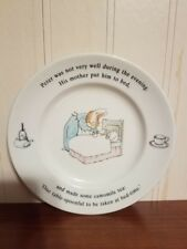 Vintage Peter Rabbit place by Wedgwood. Made 00004000  in England.