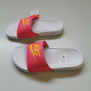 Nike Badelatschen Badeschuhe Benassi JDI Sandale Damen  Gr. 35,5