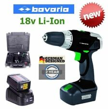 NEW EINHELL BAVARIA 18V LI-ION POWER DRILL GERMAN DESIGN 2 x BATTERY PACK RP$329
