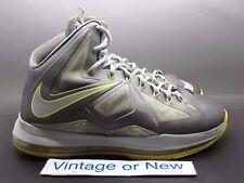 Nike LeBron X 10 Canary Diamond sz 8