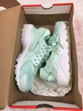 NIKE HUARACHE RUN SE GS YOUTH IGLOO WHITE 904538-300 Size 4.5Y - NEW - NWB