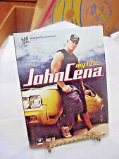 DVD MY LIFE JOHN CENA WORLD WRESTLING ENTERTAINMENT