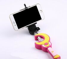 Selfie Autodyne pole video Phone Camera Sailor Moon Holder handheld With Remote