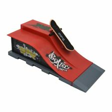 5X(Skate Park Ramp Parts for Tech Deck Fingerboard Ultimate Parks Red T7R2)