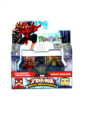 Marvel Minimates Half-Masked Spider-Man & Agent Coulson Walgreens Series 1.5 New