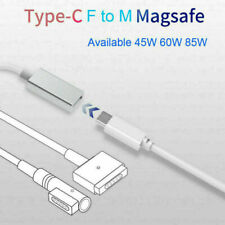 USB3.1 to T/L MagSafe1/2 TypeC Fast Charger Power Cable Cord For Macbook Pro Air