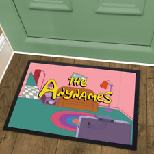 The Simpsons Animated TV Show Couch Gag Personalised Welcome Mat Doormat