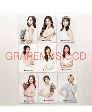 TWICE Nature Collection ALL 9 MEMBER OFFICIAL PHOTOCARD PHOTO CARD SET NEW