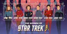 Star Trek 50th Anniversary- The Women Of Star Trek, Collectible Postage Stamps,