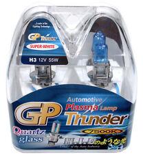 Authentic GP Thunder™ 7500K H3 Super-White Xenon Light Bulbs Headlamp Fog 55W