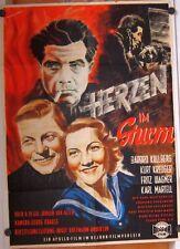HERZEN IM STURM (Filmplakat / Kinoplakat '51) - BARBRO KOLLBERG / KURT KREUGER