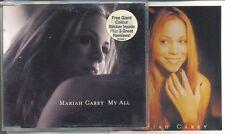 MARIAH CAREY RARE My All AUSTRALIAN CD Single with RARE Bonus Sticker