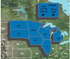 Garmin Upper Midwest Fishing Guide - microSD/SD w/ Lake of the Woods/Rainy Lake