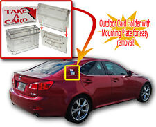 Grab A Card Outdoor Vehicle Business Card Holder for Car Van Truck Auto Mobile