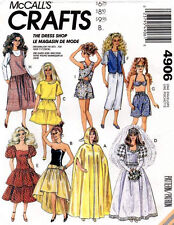 McCall's 4906 Doll Clothes for 11½� Doll Pattern