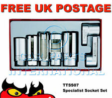 Teng Tools Specialist Oxygen Sensor Socket Set TTSS07