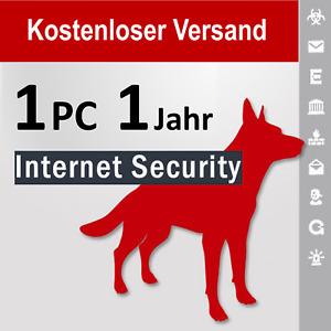 G Data Internet Security 2021  GDATA, 1 PC, 1 Jahr + 3 Monate Bonus