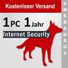 G Data Internet Security 2018 Vollversion GDATA 1 PC / 1 Jahr plus Bonus-Periode