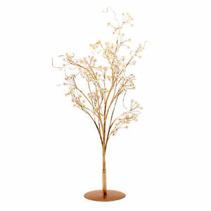 Ornamental Tree Wire Faux Pearl and Gold Coloured Vintage Style
