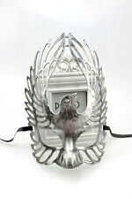 Silver Winged Mens Womens burnished Venetian masquerade mask masked ball Eagle