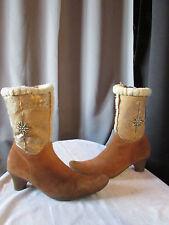 boots/bottines mouton retourné camel/daim camel marzetti 39